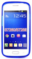 Чехол для Samsung Star Plus (GT-S7262) синий