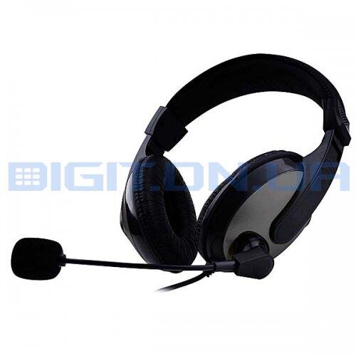наушники с микрофоном Detech Dt 580 купить в донецке цена отзывы