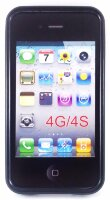 Чехол для Apple iPhone 4/4G/4S черный