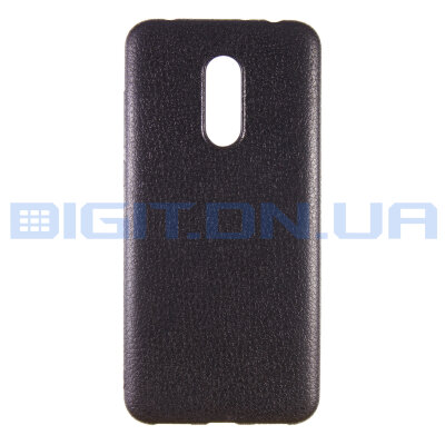 Чехол Back Cover Leather для Xiaomi Redmi 5 Plus Black