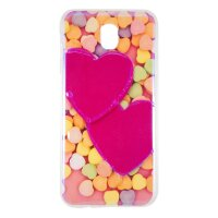 Чехол Remax Light Candy Heart для Samsung J7 2017 (SM-J730)