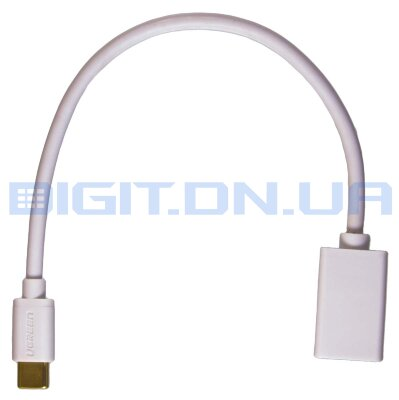 Кабель OTG UGreen USB2.0 A - USB Type-C