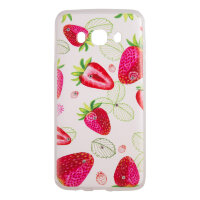 Чехол Cocktail Strawberry для Samsung J5 2016 (J510)